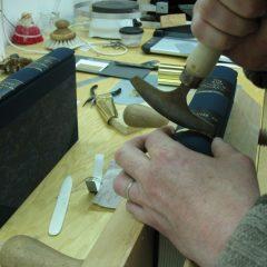 Gold tooling by Benjamin