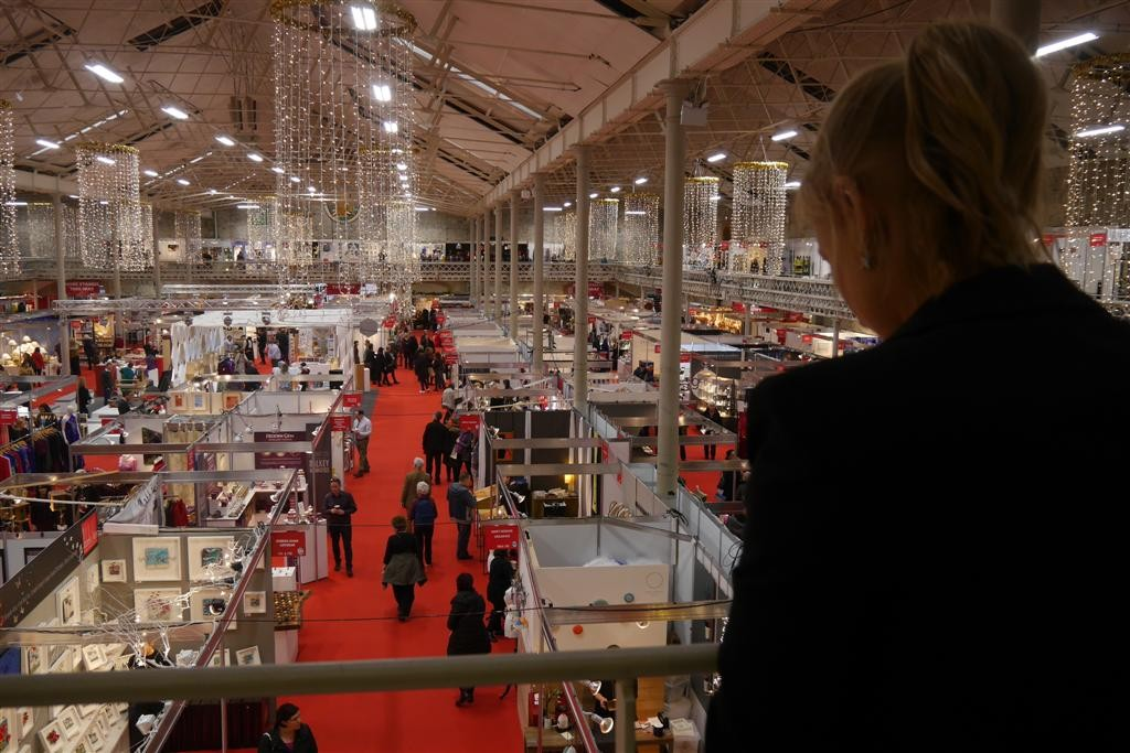 Overview on the Main Hall from our stand, B 53 - B55